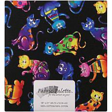 Fabric Palette 1/4-Yard 100% Cotton Fabric - Cats