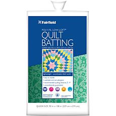 Fairfield Low-Loft, Bonded-Polyester Batting - Queen