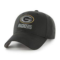 Fan Favorite Green Bay Packers NFL Black Classic Adjustable Hat