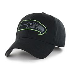 Fan Favorite Seattle Seahawks NFL Black Classic Adjustable Hat