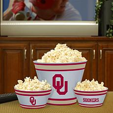 Fan Feasting Melamine Bowl Set - Oklahoma - College