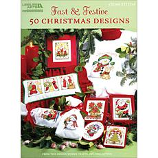 Fast & Festive 50 Christmas Designs Book - Leisure Arts