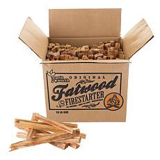 Fatwood Firestarter Kindling Sticks  ndash; Quickstart Tinder  10 l...