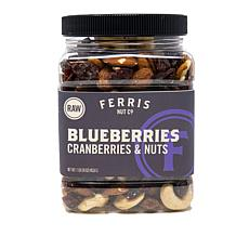 Ferris (3) 1 lb. Jars Berries & Nuts - Raw/Unsalted AS