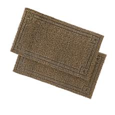 Field Smith AstroTurf® Scraper Door Mat 2-pack