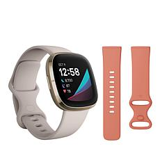 Fitbit Sense Advanced Health & Fitness Smartwatch with Extra Band