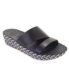 954e4744b FitFlop Asya Leather Slide Sandal
