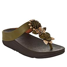 FitFlop Fino Floral Toe Post Sandal