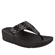 FitFlop Lulu Silky Weave Toe Post Sandal