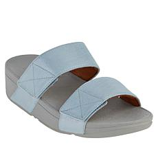FitFlop Mina Shimmer Denim Slide