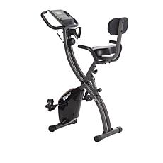 FitQuest Upright & Recumbent Bike with Resistance Bands