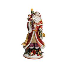 Fitz and Floyd Regal Holiday Santa Figurine