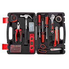 Fleming Supply 123-Piece Heat-Treated Tool Kit with Carrying Case