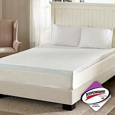 "Flexapedic by Sleep Philosophy 3"" Mattress Topper - F"