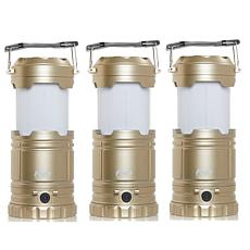 Flipo 3-in-1 Flame Glo Lantern 3-pack