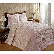 Florence 100% Cotton Tufted Chenille Bedspread - Full