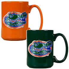 Florida Gators 2pc Coffee Mug Set