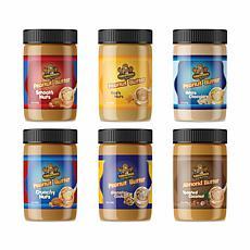 Fokken Nuts Peanut Butter Starter Collection 6-pack