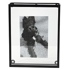 """Foreside Home & Garden 4x6"""" Decorative Black Metal Picture Frame"""