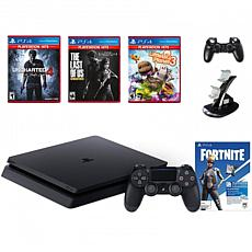 Fortnite Neo Versa PlayStation 4 with Games and Accessories Bundle