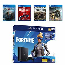 Fortnite Neo Versa PlayStation 4 with Games Bundle