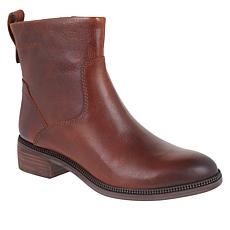 Franco Sarto Brindle Leather Ankle Bootie