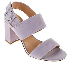 Franco Sarto Fidelma Leather Buckled Sandal