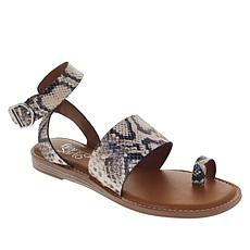 Franco Sarto Gracious Leather Ankle Strap Sandal