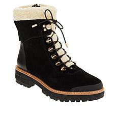 Franco Sarto Rosella Waterproof Suede Lug-Sole Boot