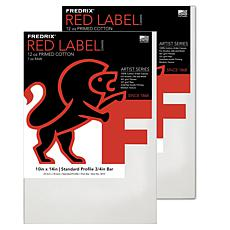 "Frederix Red Label Stretched Cotton Canvas - 10"" x 14"""