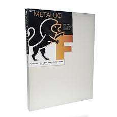 "Fredrix Pearlescent Metallic Stretched Canvas  - 16"" x 20"""
