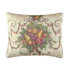 Fruit Wreath High Definition Pillow