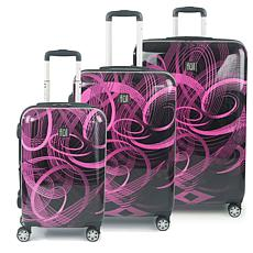 FUL Atomic Nested 3-Piece Spinner Luggage Set