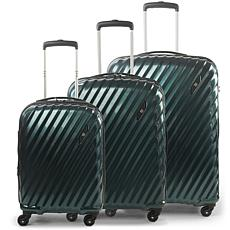 FUL Marquise Series Hard-sided 3-Piece Luggage Set - Teal