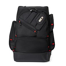 "FUL Refugee Laptop Backpack with 15"" Laptop Sleeve - Black"
