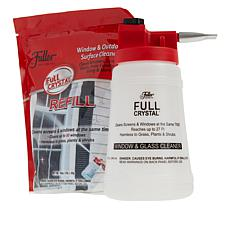 Fuller Brush Co. Full Crystal Window Cleaner with Spray Bottle