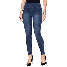 G by Giuliana 4-Way Stretch Denim Legging