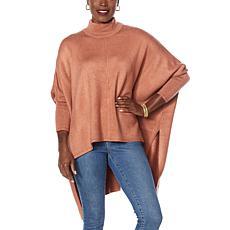G by Giuliana Black Label Sweater Poncho