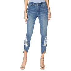 G by Giuliana Downtown Denim Printed Skinny Jean