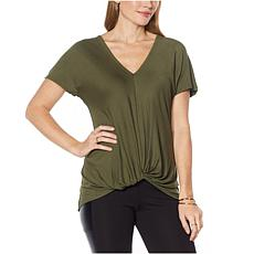 G by Giuliana Knot-Front Tunic