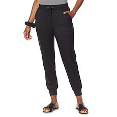 G by Giuliana LounGy Tech Jogger Pant with Hair Scrunchy