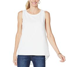 G by Giuliana Pleat Back Tank Top