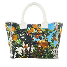 G by Giuliana Printed Canvas Tote