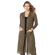 G by Giuliana Space-Dyed Duster Cardigan