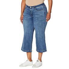 G by Giuliana Wide-Leg Cropped Jean