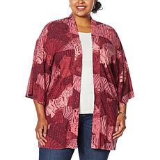 G by Giuliana Woven Printed Kimono