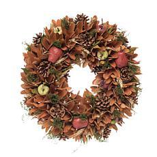 Gallerie II Bartlet Pear Wreath Large