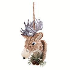 Gallerie II Natural Deer Head Ornament