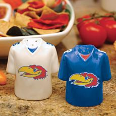 Gameday Ceramic Salt and Pepper Shakers - Kansas