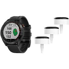Garmin Approach S40 GPS Golf Smartwatch and CT10 Bundle